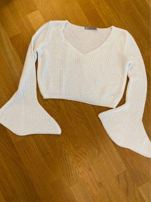Asos V-Neck Sweater white
