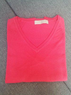V-Ausschnitt-Pullover Zara