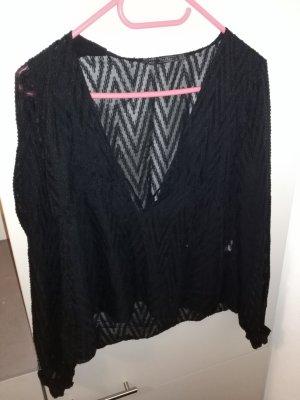 V-Ausschnitt-Shirt Marke: ZARA (Gr. S)
