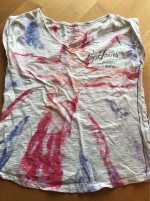 V-Ausschnitt-Tshirt