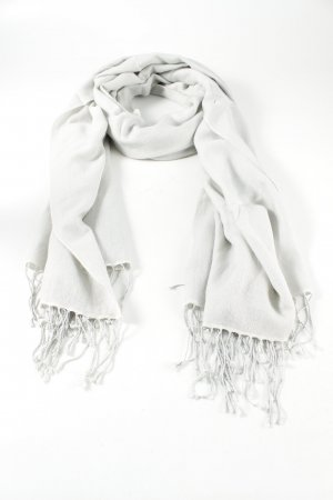 V. Fraas Cashmere Scarf light grey casual look
