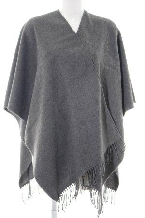V. Fraas Poncho grigio chiaro stile casual