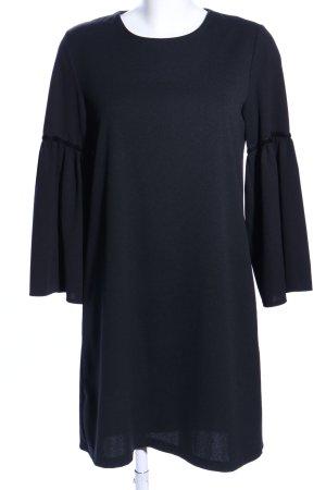 V Milano A-Linien Kleid blau Business-Look