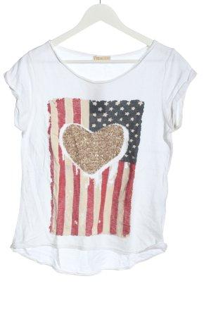 V Milano Print-Shirt