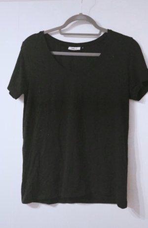 V neck top shirt tshirt oberteil