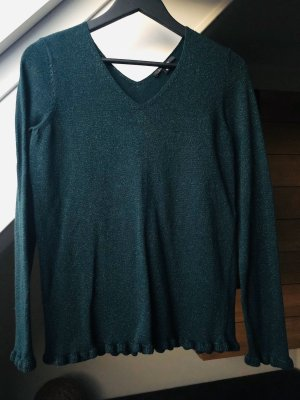 V-Pullover von Comma