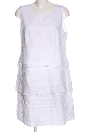 Va bene A-Linien Kleid weiß Casual-Look