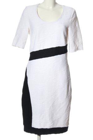 Va bene Shortsleeve Dress white-black casual look