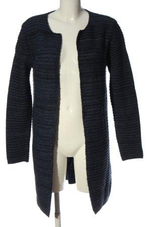VA Milano Cardigan blu motivo a righe stile casual