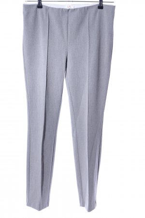 VA Milano Leggings hellgrau meliert Business-Look