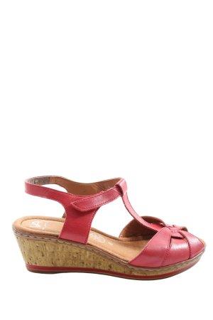VA Milano Outdoor sandalen roze casual uitstraling