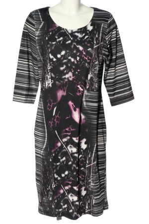 VA Milano Sukienka ze stretchu Abstrakcyjny wzór W stylu casual