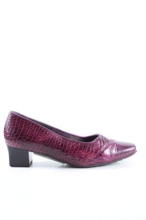 VA Milano Loafers pink animal pattern elegant