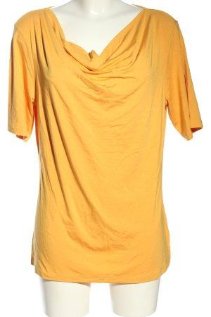 VA Milano Koszulka z dekoltem woda jasny pomarańczowy W stylu casual