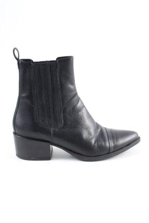 Vagabond Low boot noir style décontracté