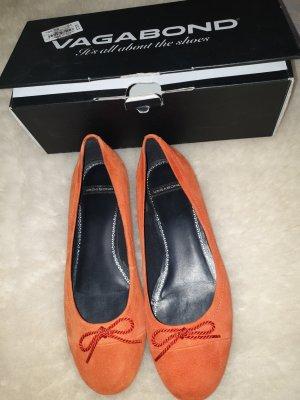 Vagabond Ballerine en pointe orange fluo