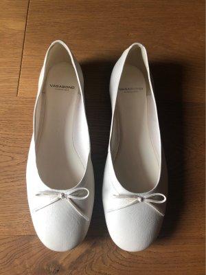 Vagabond Bailarinas con tacón Mary Jane blanco