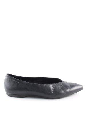 Vagabond Ballerinas mit Spitze schwarz Casual-Look