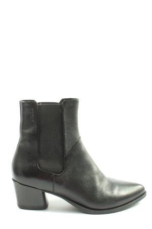Vagabond Chelsea laarzen zwart prints met een thema casual uitstraling