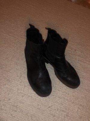 Vagabond Halfhoge laarzen zwart
