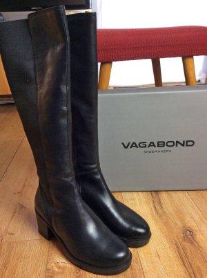 Vagabond Stretch Boots black leather
