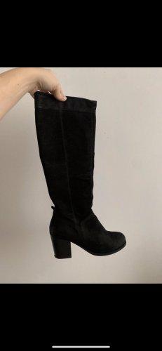 Vagabond Heel Boots black leather