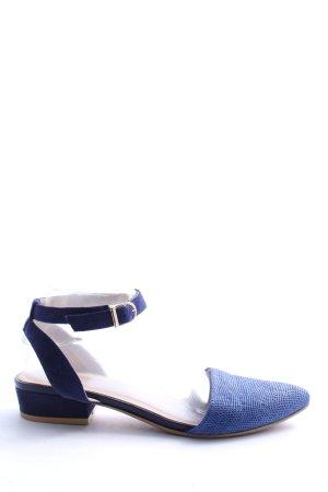 Vagabond Chaussures Mary Jane bleu imprimé allover style décontracté