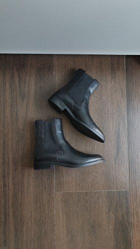 Vagabond Frances 37 Stiefelette Leder schwarz Chelsea Boots
