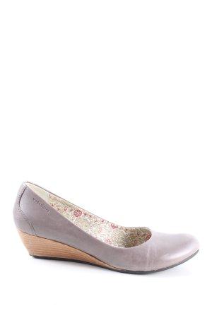 Vagabond Zapatos de cuña lila look casual