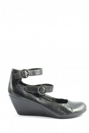 Vagabond Wedge Pumps black casual look