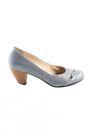 Vagabond Keil-Pumps hellgrau Casual-Look