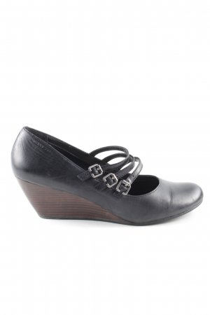 Vagabond Keil-Pumps schwarz Casual-Look