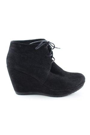 Vagabond Keil-Stiefeletten schwarz Casual-Look