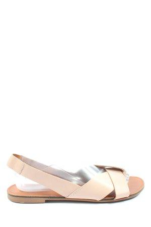 Vagabond Comfort Sandals cream-brown casual look