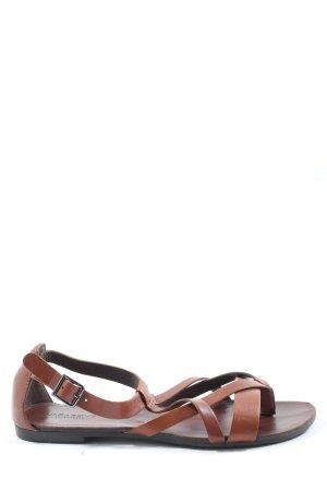 Vagabond Comfort Sandals brown casual look