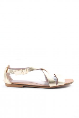 Vagabond Comfort Sandals gold-colored casual look