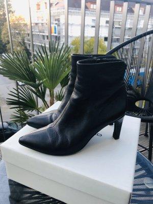 Vagabond Leder Absatzschuhe Ankle Boots Stiefeletten Heels Herbst Winter Sexy elegant