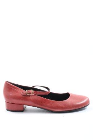Vagabond Mary Jane Schoenen rood casual uitstraling
