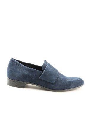 Vagabond Moccasins blue business style