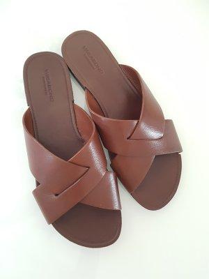 Vagabond Sandalo con tacco marrone