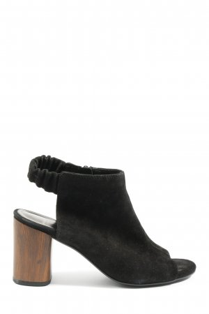 Vagabond Peeptoe Pumps schwarz Casual-Look