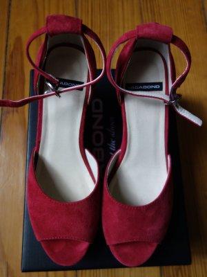 Vagabond Compensé rouge framboise