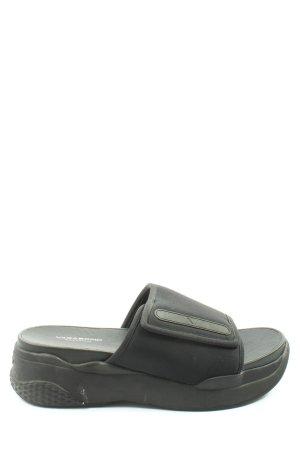 Vagabond Platform Sandals black casual look