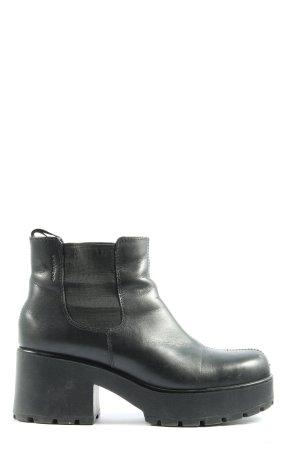 Vagabond Plateau-Stiefeletten schwarz Casual-Look