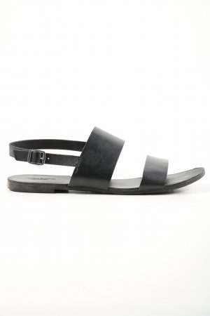 Vagabond Strapped Sandals black casual look
