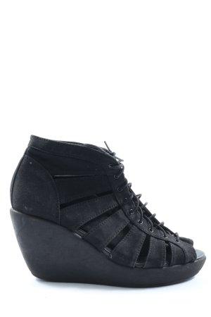 Vagabond Riemchen-Sandalen schwarz Casual-Look