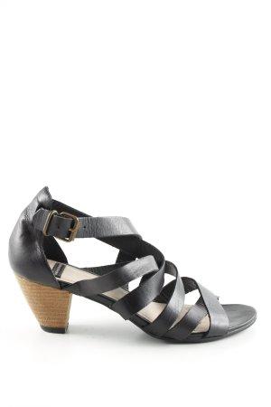 Vagabond Riemchen-Sandaletten schwarz Business-Look