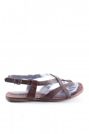 Vagabond Roman Sandals brown casual look