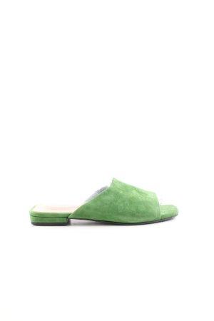 Vagabond Sabots khaki-waldgrün Casual-Look