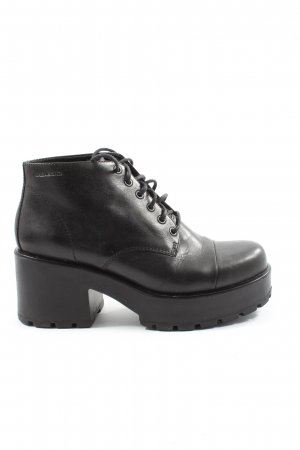 Vagabond Lace-up Booties black casual look